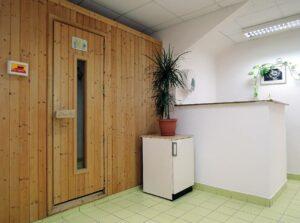 sauna v Dianetickém centru Praha